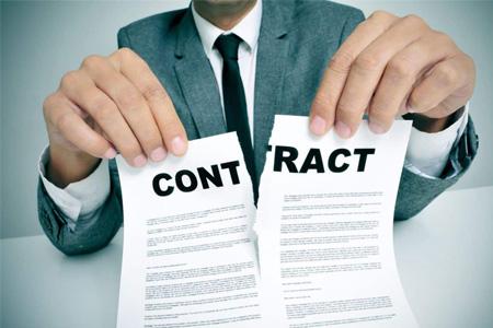 Rescisión unilateral del contrato por el Club.